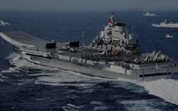 Dứt cảnh báo, tàu sân bay Trung lập tức có mặt tại eo biển Đài Loan