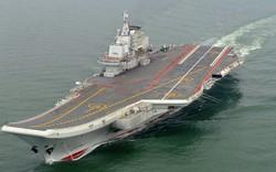 """Phi cơ chiến đấu Đài Loan """"quần thảo"""" tàu sân bay Trung Quốc"""