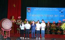 Phó Thủ tướng Vương Đình Huệ dự khai giảng tại Trường Chuyên Khoa học tự nhiên