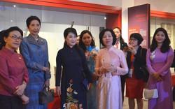 Hình ảnh phụ nữ Việt Nam thu hút Phu nhân Trưởng đoàn các nước Tiểu vùng Mê Công mở rộng