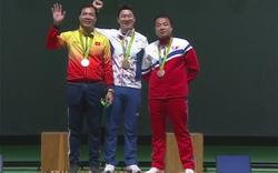 Mất điểm ở hai loạt bắn cuối, Hoàng Xuân Vinh giành thêm HCB