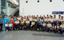 Đoàn thể thao người khuyết tật Việt Nam cập bến Malaysia