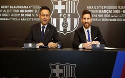 Messi, Barca tái kí kết hợp đồng lên tới hơn nửa tỷ bảng