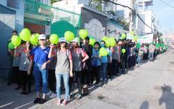 """Chương trình """"Đi bộ vì Môi trường"""" tại Tp. Hồ Chí Minh"""