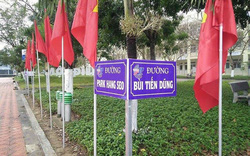 """Thầy trò HLV Park Hang-seo được một trường học đặt tên """"đường"""""""