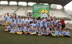Gần 100 cầu thủ nhí tham gia kỷ niệm ngày Bóng đá phong trào Châu Á 15/05
