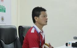"""HLV Nam Định: """"Tôi đã gào thét nhưng các cầu thủ không nghe"""""""