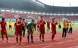 Chùm ảnh: Không gục ngã của các cầu thủ Việt Nam sau khi vuột tấm HCĐ