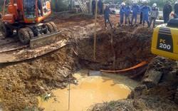 Công ty Viwasupco thông báo về sự cố vỡ ống nước Sông Đà