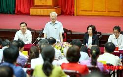 """Tổng Bí thư Nguyễn Phú Trọng: """"Sự thật đã bị xuyên tạc, lòng yêu nước bị lợi dụng, kích động để chống đối"""""""
