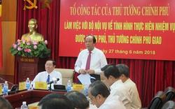 Bộ trưởng Nội vụ xin gửi lời hứa tới Thủ tướng