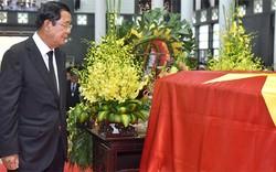 Thủ tướng Campuchia, Thủ tướng Hàn Quốc sang Việt Nam viếng Chủ tịch nước Trần Đại Quang