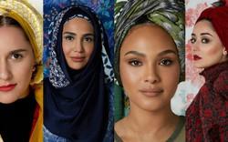 """Bốn người đẹp quàng khăn hijabi có khả năng gây """"bão"""""""