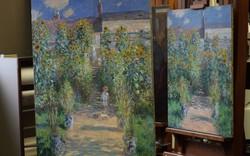 2 bức tranh 'song sinh' của danh họa Monet lần đầu tiên tái hợp