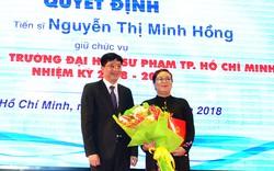 Trao Quyết định bổ nhiệm bốn Phó Hiệu trưởng, Hiệu trưởng trường đại học ở TP. Hồ Chí Minh
