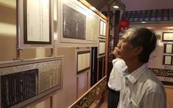 """Triển lãm chuyên đề """"Hội An – Quảng Nam, những dấu mốc lịch sử qua Châu bản, Mộc bản – Di sản Tư liệu thế giới"""""""
