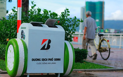 Thùng rác tạo nguồn điện sạc pin điện thoại lần đầu tiên có ở Đà Nẵng