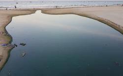 Bãi biển đẹp nhất Đà Nẵng bị đe dọa bởi ô nhiễm từ các cống xả thải