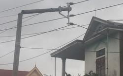 Điện lực miền Trung mất 49,5 tỷ đồng vì bão số 10