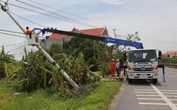 Nhiều khu vực ở Quảng Bình đã có điện trở lại sau bão số 10