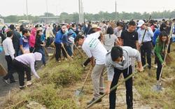 Hàng nghìn người ở Đà Nẵng dọn vệ sinh môi trường chào đón APEC