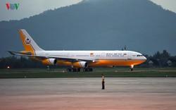 Chuyên cơ dát vàng của Quốc vương Brunei hạ cánh xuống Đà Nẵng