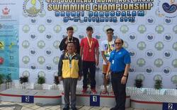 Ba VĐV Quảng Bình giành 9 HCV tại Giải bơi lội các nhóm tuổi Đông Nam Á