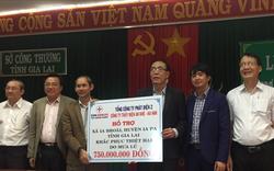 Tổng công ty Phát điện 2 hỗ trợ người dân vùng lũ ở Gia Lai