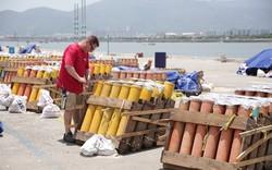 6.000 quả pháo sẽ được đội Mỹ sử dụng trong Lễ hội pháo hoa quốc tế Đà Nẵng 2018