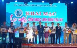 Khai mạc Lễ hội Sâm Ngọc Linh