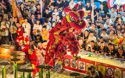 Hàng ngàn du khách đổ về Sun World Danang Wonders chiêm ngưỡng những trình diễn lân sư rồng đỉnh cao