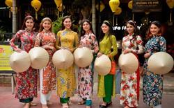 Các hoa hậu Thế giới rạng ngời trên phố cổ Hội An