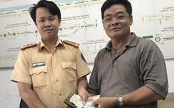 Cảnh sát giao thông đăng tin lên mạng tìm chủ nhân đánh rơi tài sản