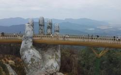 Du khách tới Đà Nẵng dịp lễ tăng cao nhờ...cây Cầu Vàng?