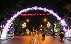Hà Nội vận động trang trí thành phố năm 2017