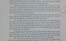 Tiền Giang phải xử lý vụ cấm bài hát Màu hoa đỏ trước ngày 27/3