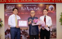 Giải thưởng Lớn Bùi Xuân Phái thuộc về Nhà văn hóa gần 100 tuổi