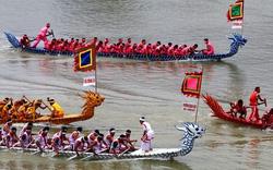 Lễ hội Bơi chải thuyền rồng lần đầu được tổ chức tại Thủ đô