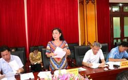 Thứ trưởng Đặng Thị Bích Liên làm việc tại tỉnh Hà Giang