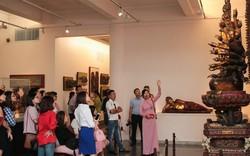 """Sở hữu cả """"kho báu"""", vì sao Bảo tàng Mỹ thuật chưa hút khách?"""
