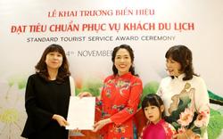 Hà Nội công nhận thêm một cơ sở đạt chuẩn phục vụ khách du lịch