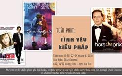 """Thưởng thức những bộ phim lãng mạn trong """"Tuần phim Tình yêu kiểu Pháp"""""""