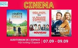 Thưởng thức 3 bộ phim Pháp đặc sắc tại L'Espace