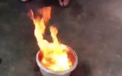 Đồng Nai: Sẽ mời chuyên gia để làm rõ vụ nước giếng bốc cháy