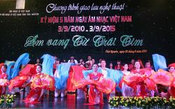 Ngày Âm nhạc Việt Nam 2017: Tháng 9 – Nắng thu