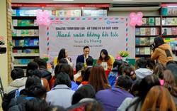Chật kín độc giả trẻ Hà Nội trong buổi giao lưu tác giả Thanh xuân không hối tiếc