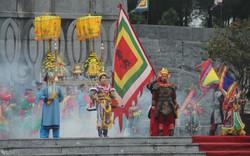 Tái hiện nghi lễ Nguyễn Huệ lên ngôi Hoàng đế tại núi Bân