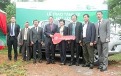 Toyota tặng xe, hỗ trợ bảo tồn thiên nhiên tại Việt Nam