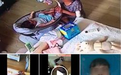 Bức xúc: Giúp việc uống trộm sữa, ngậm miệng vào núm bình rồi cho bé bú