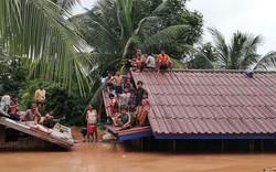 Clip nóng: Vỡ đập thủy điện ở Lào, hàng trăm người thiệt mạng và mất tích